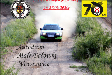 plakat Rajd Nowomiejdki