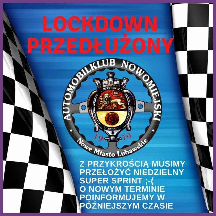 Lockdown przedłużony